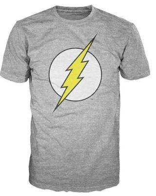 OtakuForm-SH T-Shirt US S / Gray Gray FLASH Symbol T-Shirt for Men