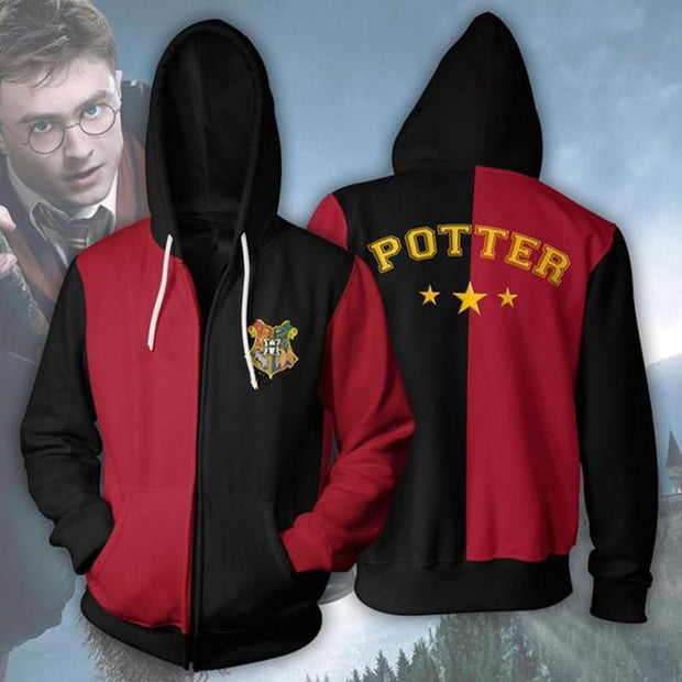 OtakuForm-OP Cosplay Jacket Zip Up Hoodie / US XS (Asian S) Harry Potter Hoodie - Triwizard Jacket