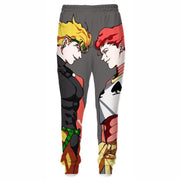 OF-HN1 Anime Hisoka and Dio Hoodie - Hunter x Hunter x JoJo's Adventure Hoodie