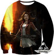 OtakuForm-OP Sweatshirt Sweatshirt / XXS Hot Chaos Magic User Scarlet Witch 3D Action Sweatshirt