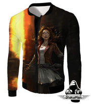 OtakuForm-OP Sweatshirt Jacket / XXS Hot Chaos Magic User Scarlet Witch 3D Action Sweatshirt