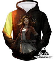 OtakuForm-OP Sweatshirt Hoodie / XXS Hot Chaos Magic User Scarlet Witch 3D Action Sweatshirt