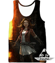 OtakuForm-OP Sweatshirt Tank Top / XXS Hot Chaos Magic User Scarlet Witch 3D Action Sweatshirt