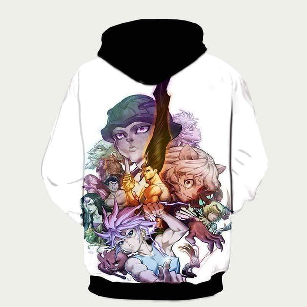 Hunter x Hunter Hoodie XXS Hunter x Hunter Hoodie - Full Cast Hunter x Hunter Merchandise