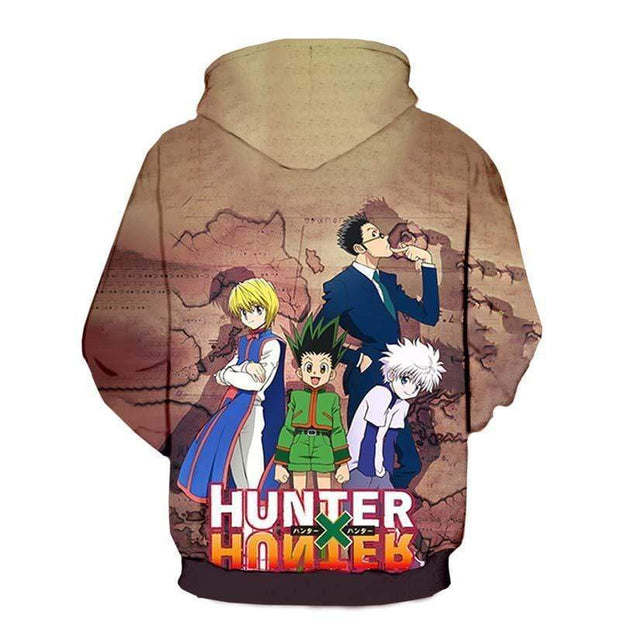 Hunter x Hunter Hoodie XXS Hunter x Hunter  Japanese  Edition Group Hoodie -Hunter x Hunter Apparel Hoodie