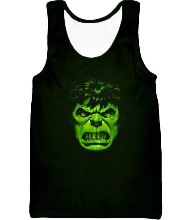 OtakuForm-OP Zip Up Hoodie Tank Top / XXS Incredible Green Hulk Promo Black Zip Up Hoodie