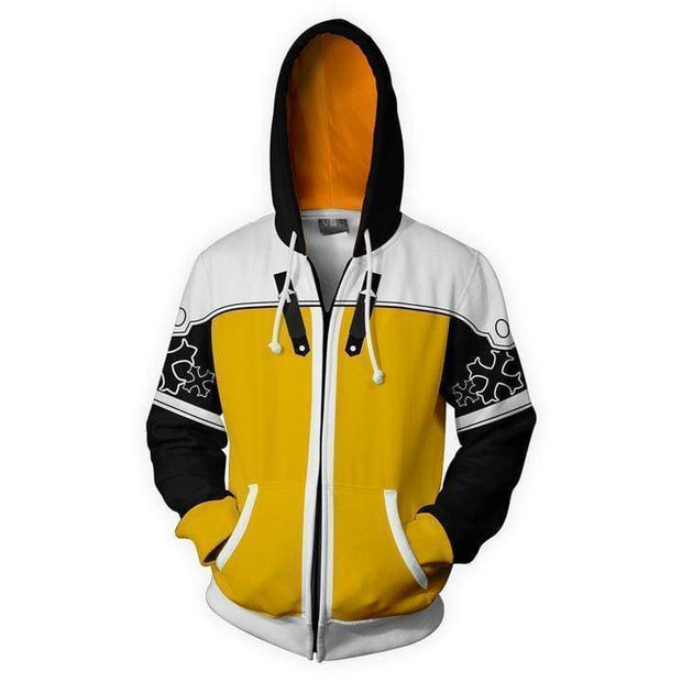OtakuForm-OP Cosplay Jacket Zip Up Hoodie / XS Kingdom Hearts Hoodies - Sora Mater Form Zip Up Hoodie Jacket