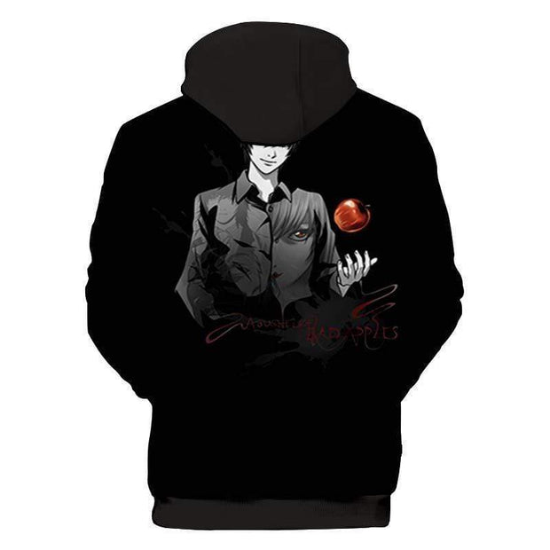 Death Note Hoodie XXS Light Yagami Abyss Edition - Death Note Jacket Hoodie