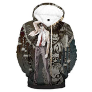 Death Note Hoodie XXS Light Yagami With Ryuk Demons Hoodie - Death Note Merch Hoodie