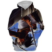 Attack On Titan Hoodie XXS Mikasa Ackerman Art Canvas  Attack On Titan 3D AOT Hoodie