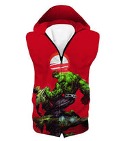 OtakuForm-OP T-Shirt Hooded Tank Top / XXS Most Powerful Hero Hulk Red T-Shirt