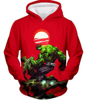 OtakuForm-OP T-Shirt Hoodie / XXS Most Powerful Hero Hulk Red T-Shirt
