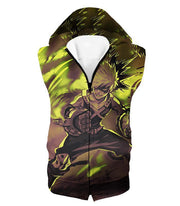 OtakuForm-OP Zip Up Hoodie Hooded Tank Top / XXS My Hero Academia Explosive Hero Katsuki Bakugo Action Zip Up Hoodie - Anime Hoodie