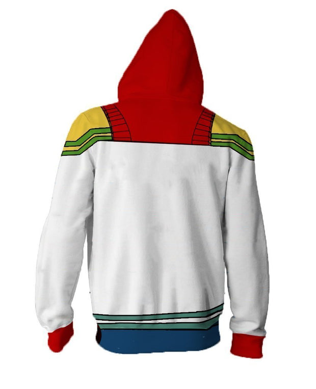 OtakuForm-OM Hoodies 5XL / Boku My Hero Academia Hoodies - Boku Zip Up Hoodie