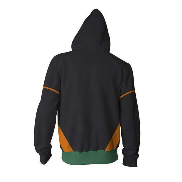 OtakuForm-OP Cosplay Jacket Zip Up Hoodie / US XS (Asian S) My Hero Academia Hoodies - Katsuki Bakugo Hero Academia Hoodie Jacket