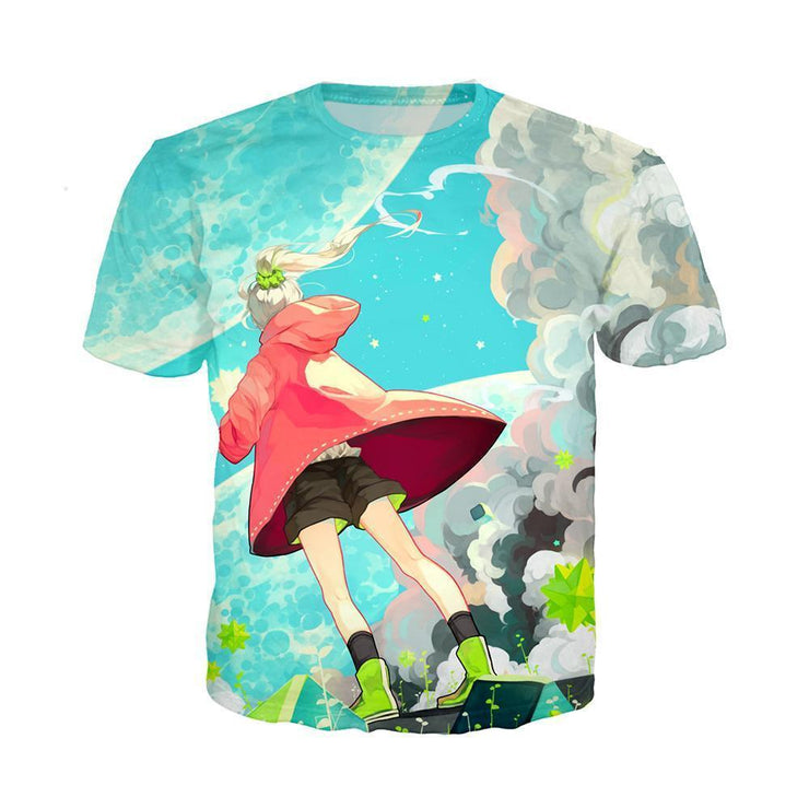 Anime Merchandise T-Shirt M My Hero Academia Shirt - New Sky T-Shirt