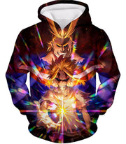 OtakuForm-OP Sweatshirt Hoodie / XXS My Hero Academia Sweatshirt - My Hero Academia Number One Hero All Might One for All Holder Cool Anime Graphic Sweatshirt