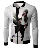 OtakuForm-OP Sweatshirt Jacket / XXS My Hero Academia White My Hero Academia Villain Dabi Sweatshirt - Anime Sweatshirt