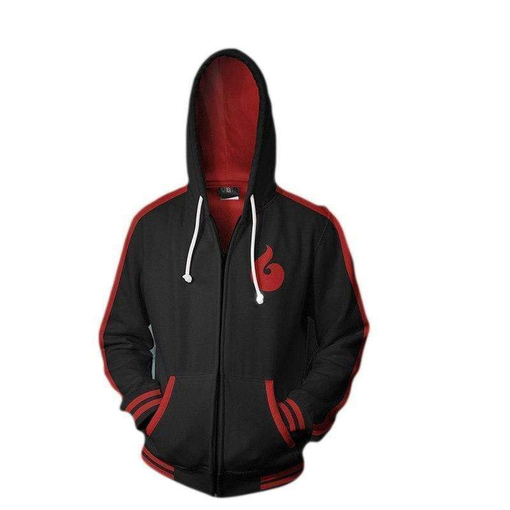 OtakuForm-Naruto Zip Up Hoodie XXS Naruto Hoodies - Naruto Sage Mode Zip Up Hoodie Jacket