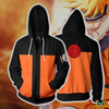 OtakuForm-OP Cosplay Jacket Zip Up Hoodie / XS Naruto Hoodies - Young Naruto Uzumaki Zip Up Hoodie Jacket