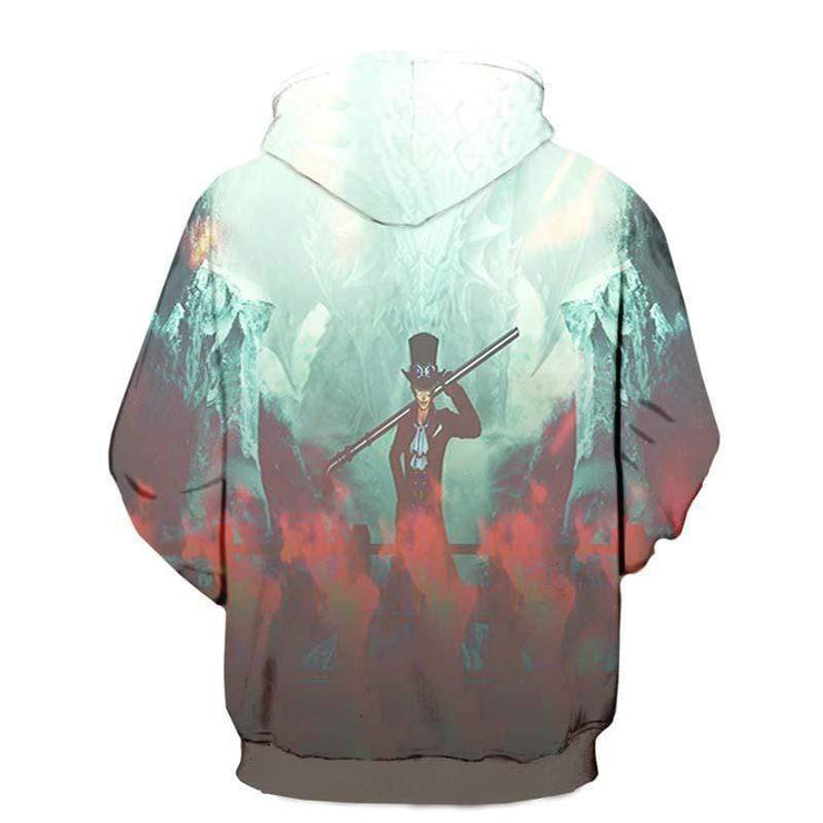 One Piece Hoodie XXS / Pull Over hoodie One Piece abo Ice and Fire Elements - One Piece Hoodie