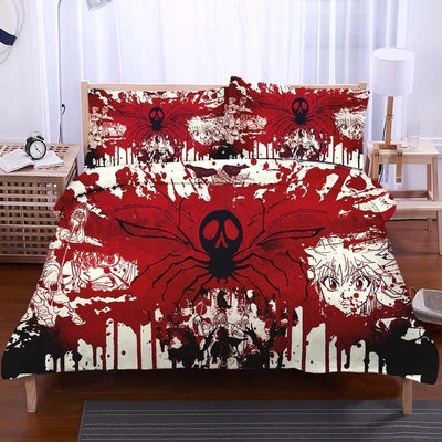 Hunter x Hunter Bedset TWIN Phantom Troupe Blood Bedset - Hunter x Hunter 3D Printed Bedset