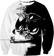 OtakuForm-OP Hoodie Sweatshirt / XXS Pokemon Hoodie - Pokemon Ghost Pokemon Trio Haunter Gengar and Ghastly Cool Hoodie