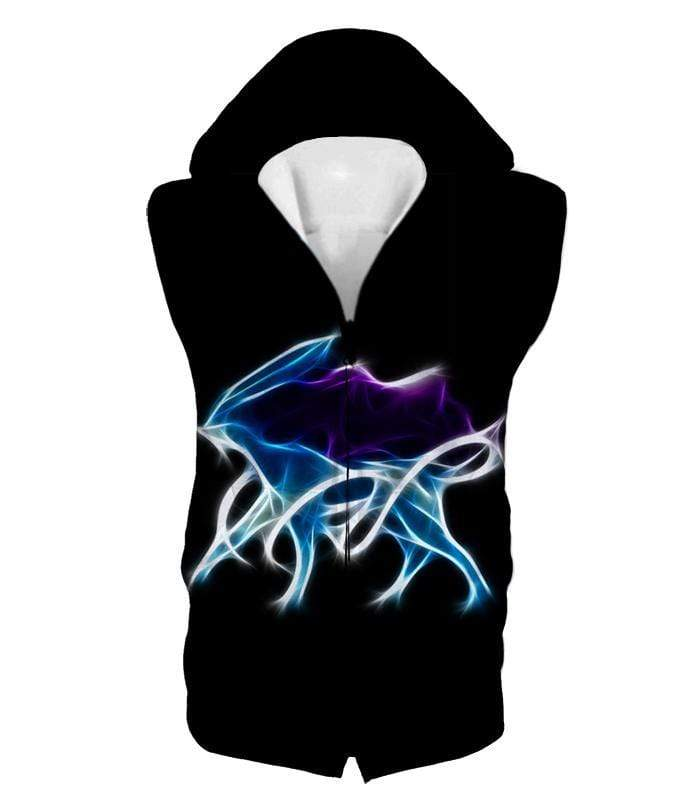 OtakuForm-OP Hoodie Hooded Tank Top / XXS Pokemon Legendary Aurora Water Pokeom Suicune Black Hoodie  - Pokemon Hoodie