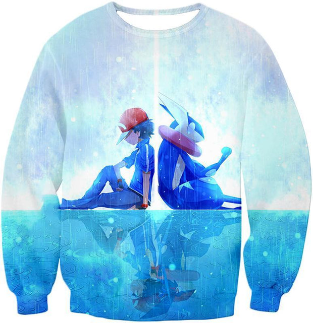 OtakuForm-OP T-Shirt Sweatshirt / XXS Pokemon Pokemon Promo Ash X Greninja T-Shirt