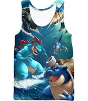 OtakuForm-OP T-Shirt Tank Top / XXS Pokemon T-Shirt - Pokemon Awesome All Powerful Water Type Pokemons Cool T-Shirt