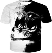 OtakuForm-OP T-Shirt T-Shirt / XXS Pokemon T-Shirt - Pokemon Ghost Pokemon Trio Haunter Gengar and Ghastly Cool T-Shirt