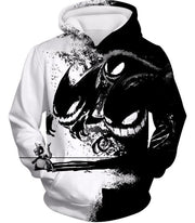OtakuForm-OP Zip Up Hoodie Hoodie / XXS Pokemon Zip Up Hoodie - Pokemon Ghost Pokemon Trio Haunter Gengar and Ghastly Cool Zip Up Hoodie