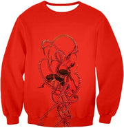 OtakuForm-OP T-Shirt Sweatshirt / XXS Spiderman in Octopus Claws Cool Red Action T-Shirt