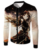 OtakuForm-OP Hoodie Jacket / XXS Sword Art Online Absolute Sword Konno Yuuki Awesome Cool Graphic Hoodie