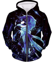 OtakuForm-OP Sweatshirt Zip Up Hoodie / XXS Sword Art Online Asada Shino Black Sweatshirt - Sword Art Online Sweater