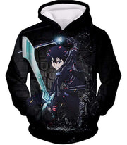 OtakuForm-OP Zip Up Hoodie Hoodie / XXS Sword Art Online Awesome Kirito Cool Sword Action Anime Graphic Zip Up Hoodie