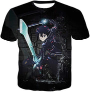 OtakuForm-OP Zip Up Hoodie T-Shirt / XXS Sword Art Online Awesome Kirito Cool Sword Action Anime Graphic Zip Up Hoodie