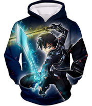 OtakuForm-OP Zip Up Hoodie Hoodie / XXS Sword Art Online Awesome Kirito Swordplay Action Graphic Zip Up Hoodie - Sword Art OnlineHoodie