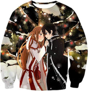 OtakuForm-OP Hoodie Sweatshirt / XXS Sword Art Online Cutest Anime Couple Kirito and Asuna Awesome Anime Hoodie