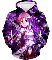 OtakuForm-OP Zip Up Hoodie Hoodie / XXS Sword Art Online Super Cute Asuna Yuuki Graphic Zip Up Hoodie - SAO MerchandseHoodie