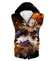 OtakuForm-OP Hoodie Hooded Tank Top / XXS Sword Art Online Super Cute Character Yuuki Asuna Awesome Anime Graphic Hoodie - Sword Art Online Hoodie