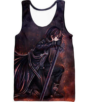 OtakuForm-OP Hoodie Tank Top / XXS Sword Art Online The Black Swordsman Kirito Ultimate Action Graphic Promo Hoodie  - Sword Art Online Hoodie