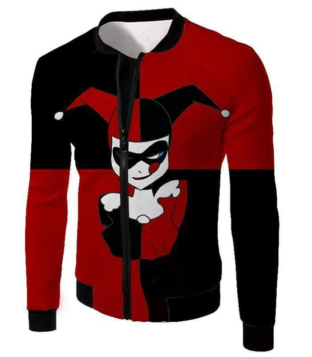 OtakuForm-OP T-Shirt Jacket / XXS The Animated Villain Harley Quinn Promo Red and Black T-Shirt
