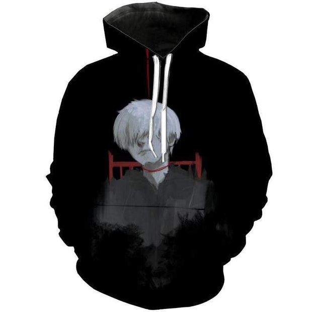 Tokyo Ghoul Hoodie XXS The Death & Rise Of Haise - Tokyo Ghoul Merch Hoodie