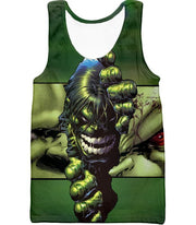 OtakuForm-OP Zip Up Hoodie Tank Top / XXS The Green Monster Hulk Zip Up Hoodie