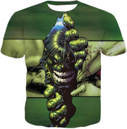 OtakuForm-OP Zip Up Hoodie T-Shirt / XXS The Green Monster Hulk Zip Up Hoodie