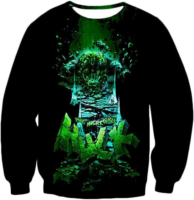 OtakuForm-OP Hoodie Sweatshirt / XXS The Incredible Hulk Animated Promo Hoodie
