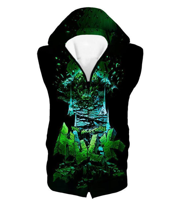 OtakuForm-OP T-Shirt Hooded Tank Top / XXS The Incredible Hulk Animated Promo T-Shirt