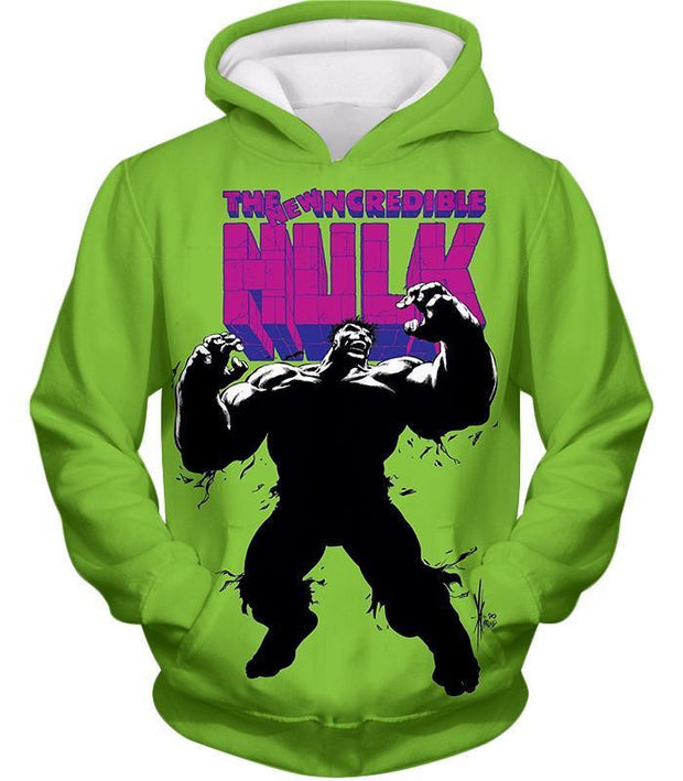 OtakuForm-OP Hoodie Hoodie / XXS The New Incredible Hulk Promo Green Hoodie