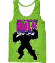 OtakuForm-OP Hoodie Tank Top / XXS The New Incredible Hulk Promo Green Hoodie